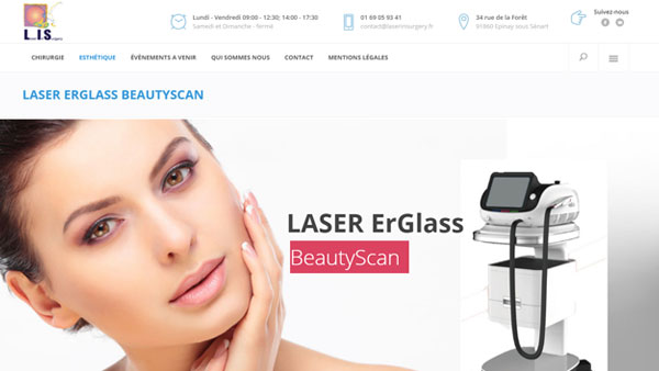 LASER ERGLASS BEAUTYSCAN